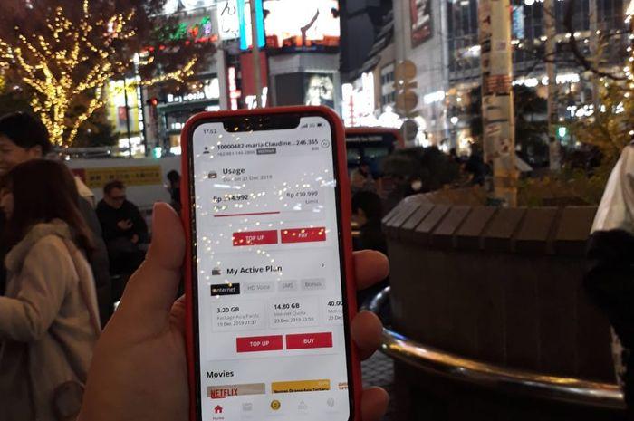 Jajal Ketangguhan Internet Roaming Smartfren di Jepang